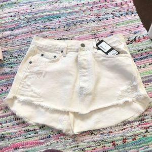 Carmar Adriana White Denim Skirt